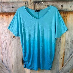 VGUC Lane Bryant Ombré T-Shirt 14/16